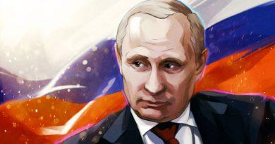 Президент Российской Федерации Владимир Владимирович ПУТИН // riafan.ru